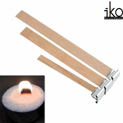 20pcs - Candle Making Wicks Wooden Wicks