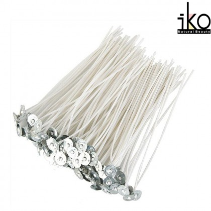 Candle Wick / Candlewick 100% Cotton 2.5cm - 12cm ( 10pc )