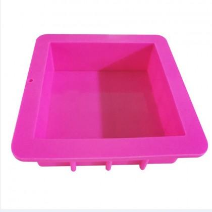 1.1kg/3kg Square Soap Mould/ Silicone Mould/ 正方形肥皂膜具